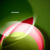 Green and pink waves Royalty Free Stock Photography