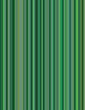 Green Pinstripe Background Stock Photography
