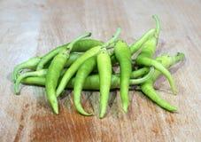 Green piparrak Royalty Free Stock Photo