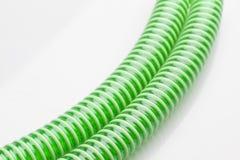 Green pipes Royalty Free Stock Photos