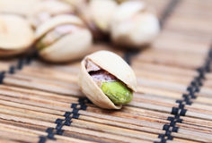 Green pistachio Royalty Free Stock Photos