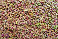 Green pistachio nuts Royalty Free Stock Photography