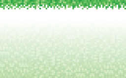 Green Pixel Background and Header Royalty Free Stock Photo
