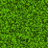 Green Pixel Background Stock Photo