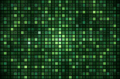 Green pixel mosaic background Stock Photo