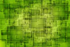 Green Pixels Background Royalty Free Stock Photography