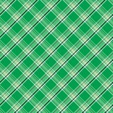 Green plaid Royalty Free Stock Photos