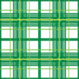 Green plaid Stock Photos