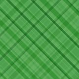 Green plaid Royalty Free Stock Image