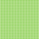 Green Plaid Design Stock Images