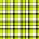 Green plaid material Royalty Free Stock Images