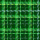 Green plaid pattern. Illustration Royalty Free Stock Photography