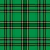Green Plaid Pattern Stock Images