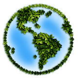 Green planet. Global Warming. The green planet Stock Photography