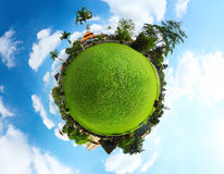 Green planet Royalty Free Stock Photo