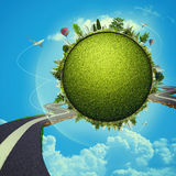 Green Planet Stock Photos