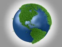 Green Planet - The Americas Royalty Free Stock Photography