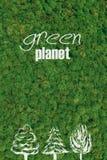 Green planet. Stock Photos