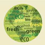 Green planet Royalty Free Stock Photography