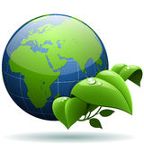 Green planet concept. Stock Photo