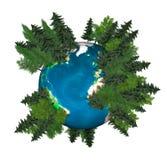 Green Planet Earth Royalty Free Stock Photos