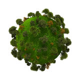Green planet earth Royalty Free Stock Image