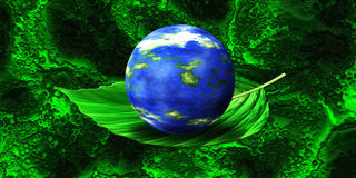 Green Planet - Ecology Royalty Free Stock Photography