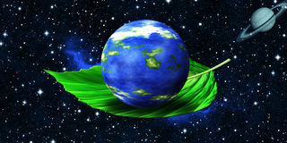 Green Planet - Ecology Royalty Free Stock Image