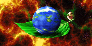 Green Planet - Ecology Stock Photo