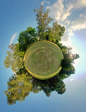 Green planet. Ecology and space concept Stock Photography