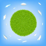 Green Planet. Vector Royalty Free Stock Photos