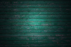 Green plank table Stock Photos