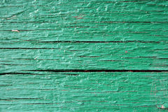 Green plank texture Royalty Free Stock Photography