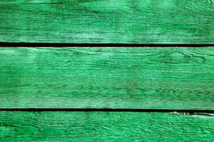 Green Planks background Royalty Free Stock Photos