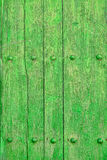 Green planks Royalty Free Stock Image
