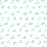 Green plant pattern stock illustration