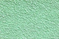 Green plaster. Fine decorative plaster fur coat green shade Royalty Free Stock Photos