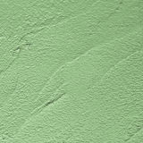 Green plaster surface Royalty Free Stock Photography