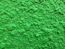 Green plaster texture Stock Images