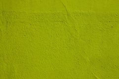 Green plaster wall Stock Images