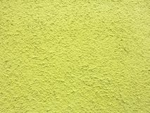 Green plaster wall background Royalty Free Stock Photos
