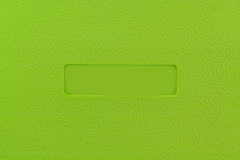 Green plastic Royalty Free Stock Photo