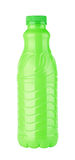 Green plastic bottle Stock Photos