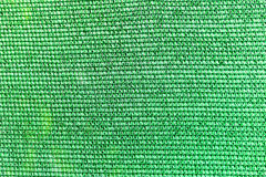Green plastic canvas texture. Background Stock Photography