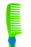 Green plastic comb Royalty Free Stock Photography