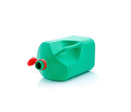 Green plastic container Stock Photos