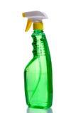 Green plastic dispenser Stock Photography