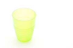 green plastic glass Royalty Free Stock Photos