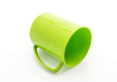 green plastic glass Royalty Free Stock Photography