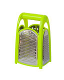 Green plastic grater Royalty Free Stock Image